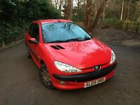 PEUGEOT 206 PETROL FOR SALE