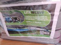 LiteweaveLuxury Breatheable Camping Carpet - 320cm x 240cm
