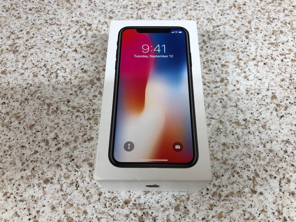 Apple Iphone X 256gb Space Grey Box Only In East Croydon