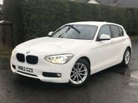 Pics to follow -Mint December 2012 BMW 116D EfficientDynamics with only 75K - White with leather.