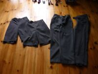 Grey School Shorts x 2 pairs and Long Trousers x 2 pairs John Lewis and M&S