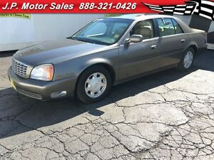 2002 Cadillac DeVille Automatic, Leather, Sunroof, Heated Seats