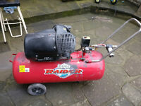 Clarke Raider 15/1000 3hp 100 Litre Air Compressor