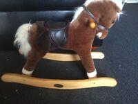 Toddlers rocking horse