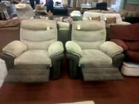 Recliner armchairs tcl 17545, 17546. £49 each