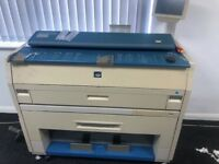 FREE KIP 3000 wide format roll fed printer and copier