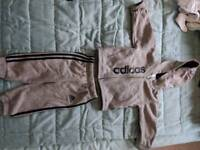 Adidas baby bot tracksuit 6-9 months