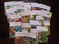 29 copies of Gardens Illustrated magazine.