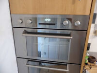 Hoover integrated double oven
