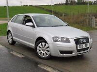 AUDI A3 1.6 SPECIAL EDITION 5d 2007 6 Months RAC Parts And Labour Warranty Years MOT