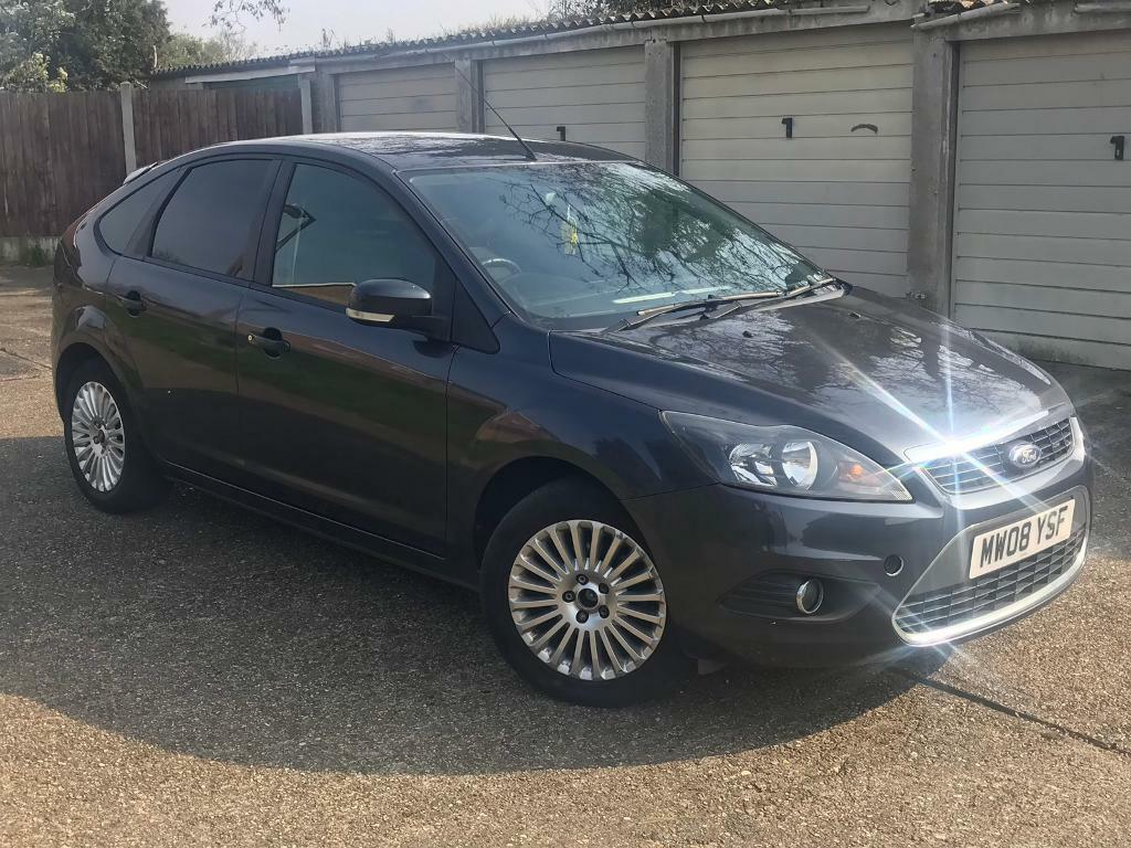 2008 Ford Focus Titanium 1 8 Petrol 1 Years Mot Service History Cheap Car In Highwoods Essex Gumtree