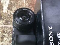 Sony A6300 Alpha Digital Camera mirrorless a6500 16-50mm + Cannon lens adaptor