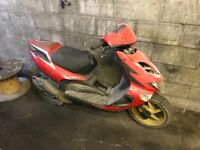Aprilia 125 scooter field use only