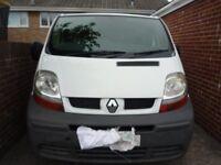 spares or repair Renault Traffic Van
