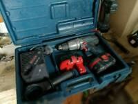 Bosch professional 18v hammer drill