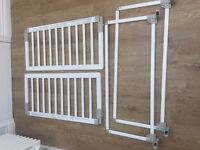 BabyDay Wooden Bed Guard (White) 2 Available