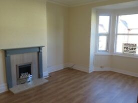 OLD COLWYN. Freshly Redecorated Bright and Airy 2 Bedroom 1st Floor Flat Partial Sea View