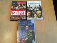Three DVDs for sale