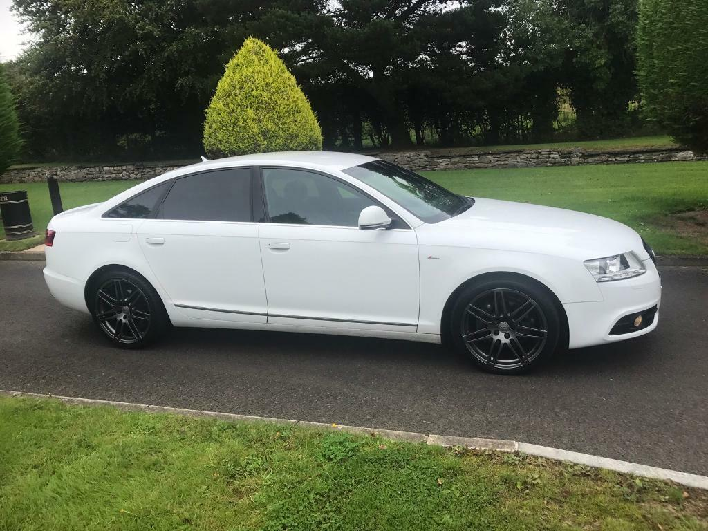 2010 white audi a6 s line special edition in limavady. Black Bedroom Furniture Sets. Home Design Ideas