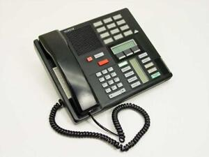 Nortel M7310 - 3-Line Business Phone - Red, Black, or Ash - NT8B20AB-23, NT8B20AB-93, NT8B20XX, NT8B20AB-03, NT8B20AG-03
