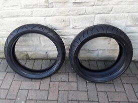 Motorcycles tyres from Suzuki Bandit/GSX1250FA Front & rear