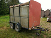Box Stock Trailer