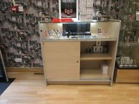 SHOP DISPLAY CABINETS IN EXCELLENT CONDITION