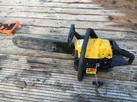 Chainsaw mcculloch