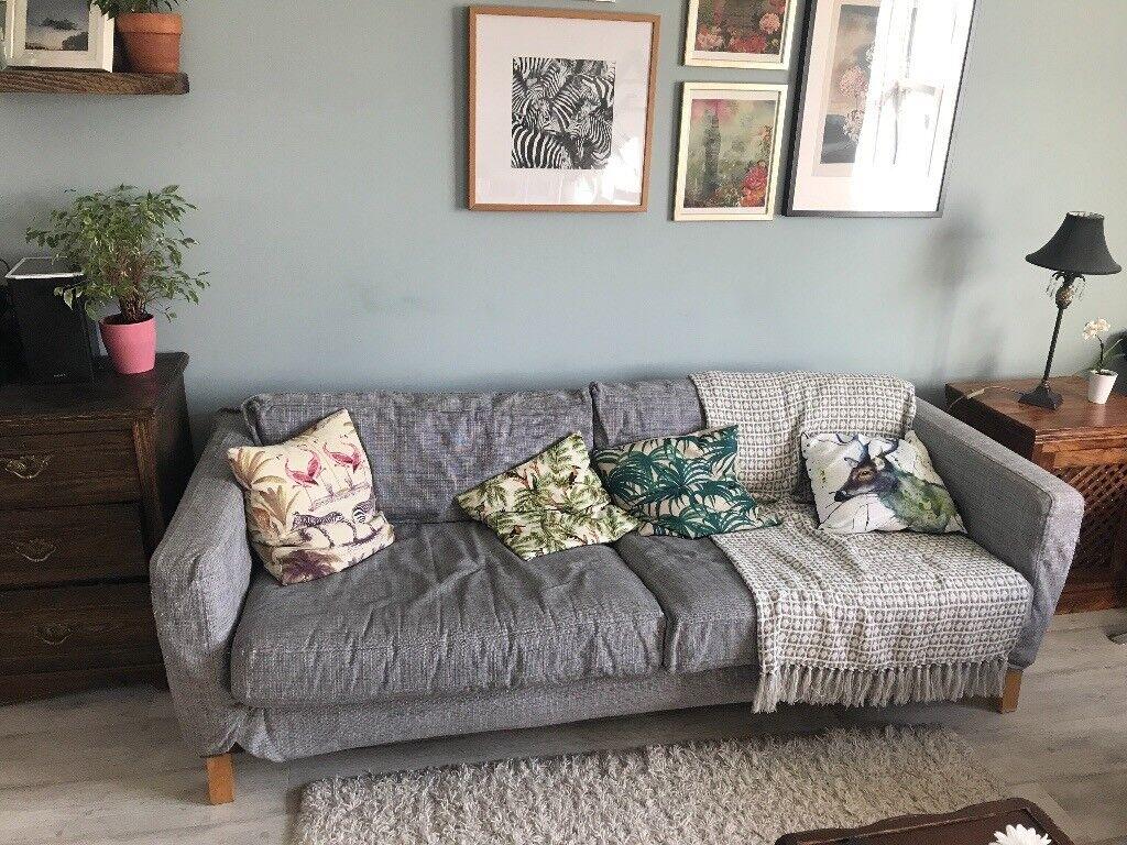 karlstad sofa ikea free  in brixton london  gumtree