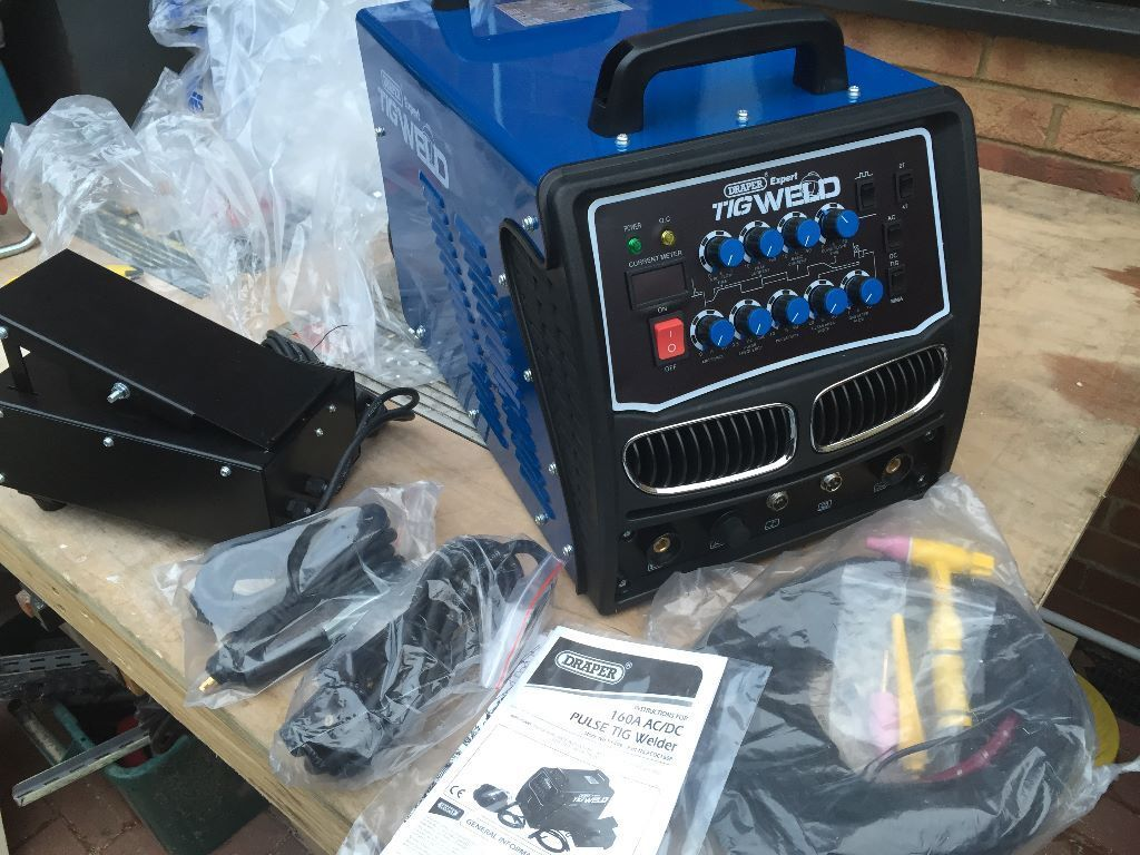 draper ac dc high frequency tig welder a v in northampton draper ac dc high frequency tig welder 160a 230v