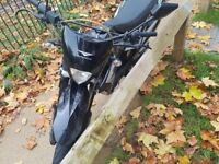 SuperByke RMR 125cc 2015 (Black/ SORNED) Good condition. (£1,000 ono)