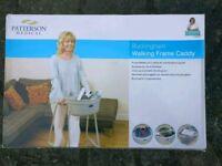 Walking frame caddy