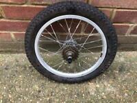 Sturmey Archer 3 Speed 16 inch Wheel and Tyre