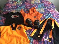Little tiger cubs suit/bundle
