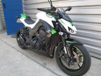 Kawasaki Z1000 - fitted with Vance & Hines exhaust