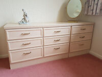 Bedroom Drawers Plus Bedside Chest