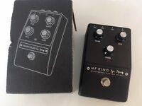 MOOG Minifooger Ring Modulator PEDAL New Boxed, Unused