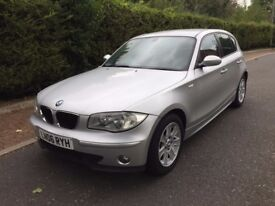 BMW 1 SERIES 116i 2006 98K 1 YEAR MOT FULL SERVICE **CHEAP CAR**