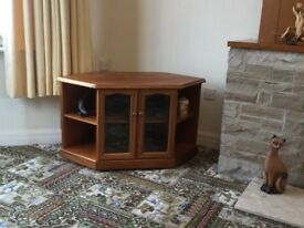 Offers Please - Teak Corner TV/DVD Unit - Trafalgar 217 by Sutcliffe