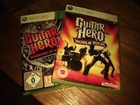2 x Guitar Hero Games