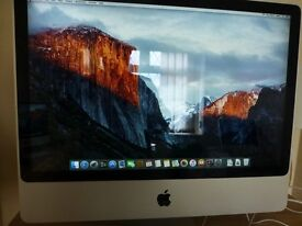 "Very Nice Condition, iMac 24"" Core 2 Duo."