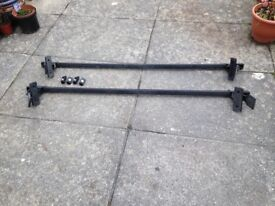 VW roof bars good condition with locks and keys