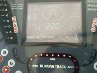 NEW FITNESS AS01 MOTORISED TREADMILL RUNNING MACHINE, IN VGC, LITTLE USED, MAX SPEED 22KPH,