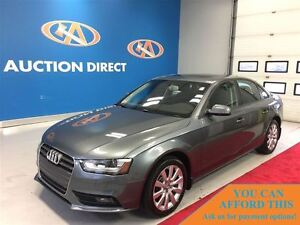 2013 Audi A4 2.0T Premium SUNROOF!, AWD, LEATHER, HEATED SEATS