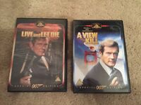 Live and Let Die / A View to a Kill - James Bond 007 - Roger Moore Film Movie Set