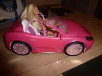 Barbie Car with Barbie