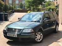 2004 VW PASSAT HIGHLINE MET GREEN MANUAL 1.9 TDI NEW TIMING BELT WATER GOING ABROAD HAVE TO SELL