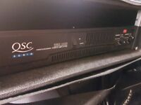 QSC RMX 2450 POWER AMPLIFIER WITH CARRY CASE