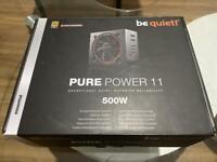 500w PSU be quiet! Semi modular pure power 11 CM