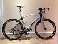 Time Trial/Tri large frame LOOK 596 carbon bike